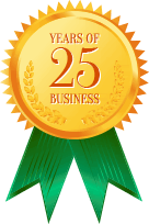 25 years of business